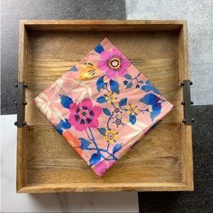 J. CREW Liberty Cotton Bandana Pink Multi NWT